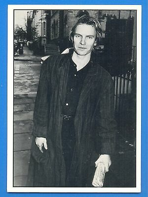 STING.POSTCARD PUBLISHED 1980s