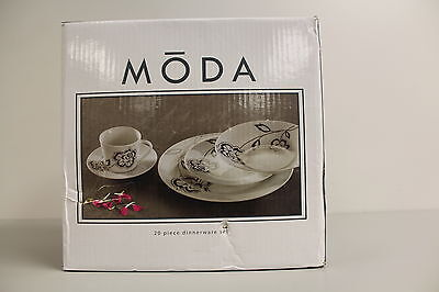 Moda 20 Piece Dinnerware Set