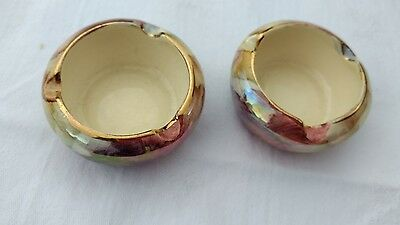 Oldcourt Ware, Pair Of Tiny Dishes
