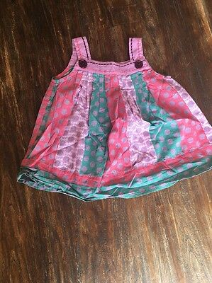 Girls Monsoon Summer Dress Age 3-6 Months Excellent Condition