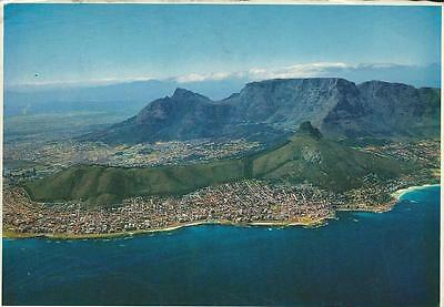 "Postcard - ""Aerial View Cape Town"" - Posted (1971)"