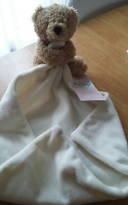 baby comforter - soft toys - new - m&s