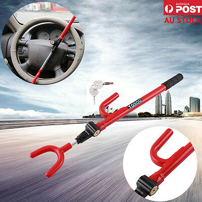 Anti-Theft Steering Wheel Lock Security Device For Vehicle Car Truck Brand New