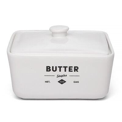 NEW Ecology Staples Foundry Butter Dish