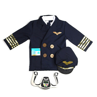 NEW Johnco Pilot Children's Costume