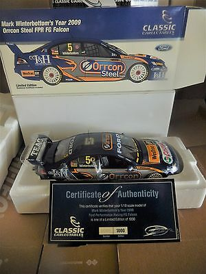 1:18 Classic Carlectables Mark Winterbottom 2009 Fpr Fg Ford Falcon