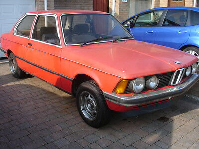 Classic BMW 316 E21 74500 Miles Four Headlight 5 Speed Time Warp Barn Find
