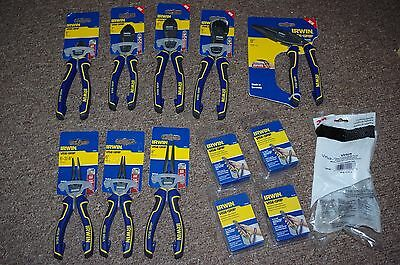 Irwin Vise-Grip Pliers & Cutters Pro - 8 tools set + 4 x Lanyard + Safety