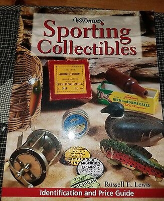 WARMANS SPORTING COLLECTABLES IDENTIFICATION AND PRICE GUIDE BOOK mason Heddon
