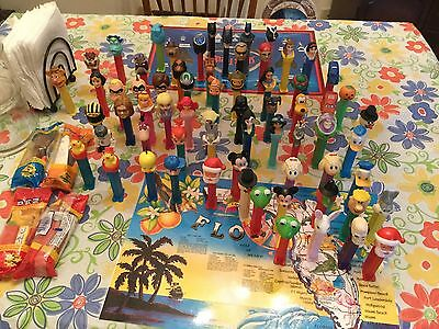 LOT OF 64 ~ PEZ Candy Dispensers