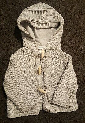 Country Road size 0/6-12 months winter cardigan jumper jacket