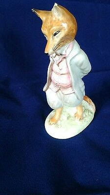 BESWICK BEATRIX POTTER Foxy whiskered gentleman bp2a Rare