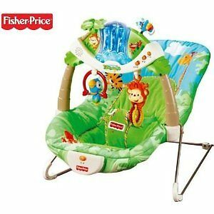 Fisher Price Rainforest Deluxe Bouncer NEW
