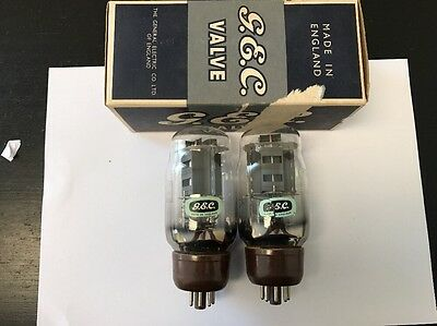 Kt66 Gec Nos Boxed Pair Valve/tube (Lc9)