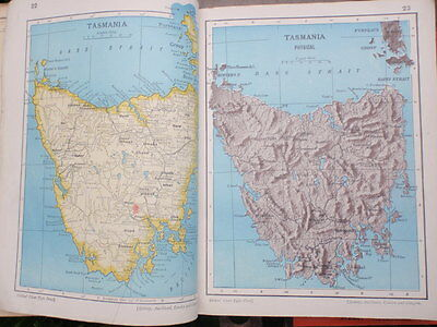 2 Old School Atlases  illlustrated  1911 &  1967
