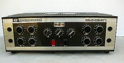 DYNACORD EMINENT I 60s Vintage Very RARE  Amp EL34 Power Tubes German Made