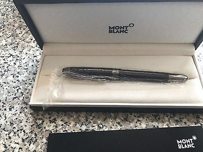Montblanc Meisterstück Ultra Black Classique Fountain Pen    -Point size: Medium