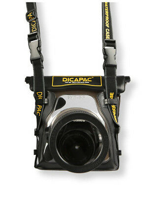 [DiCAPac] WP-S5 : 100% Waterproof Case For DSLR Cameras - AU Stock