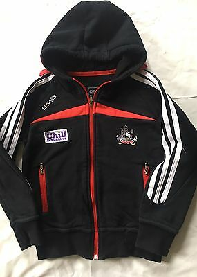 O'Neills GAA Cork Corcaigh Hurling Gaelic Football Boys Zipped Hoodie Age 5-6