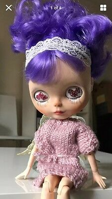 """💖  🇬🇧 OOAK Blythe Custom Doll """"Aly"""" With Jointed Body"""
