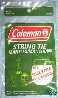 Coleman Powerhouse Lantern Mantles (4 mantles)