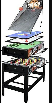 Hypro 7 In 1 Games Table New