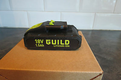 Guild ABP118G1 Li-ion Drill Battery 18v  lithium 1.5Ah Replacement