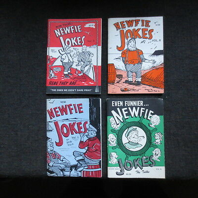 Newfie jokes 1970s early 80s vintage 4 booklets Newfoundland