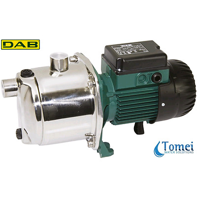 Centrifugal Electric Water Pump in Steel EUROINOX 30/80 M 0,8KW 1,1HP 240V DAB