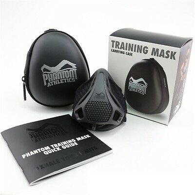 Phantom (PA) High Altitude Training Mask MMA Football CrossFit - Medium