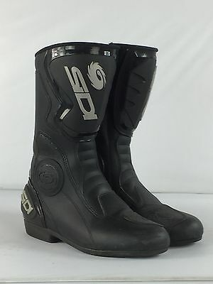 Sidi Black Rain – Motorcycle MotorBike Leather Boots – Sale – SIZE 9
