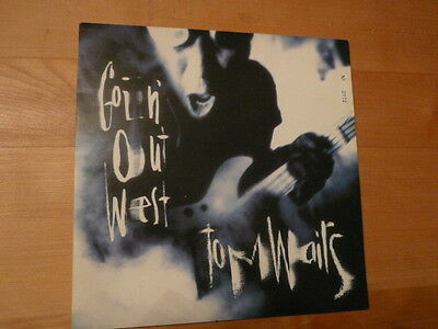 """TOM WAITS Goin' Out West - 10"""" Single Island Records 10 IS 537 - new!"""