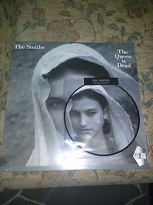 "the smiths 7"" pic disc and 12"" the queen is dead vinyl lp singles new sealed"