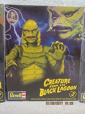 CREATURE FROM THE BLACK LAGOON REVELL MODEL KIT case fresh factory sealed MINT