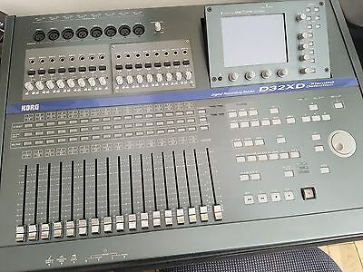 KORG D32XD Digital 32-Track Recorder WITH ACB-8 and AIB-8