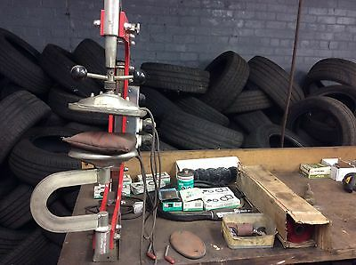 Rema Tip Top Thermopress Tyre Repair Station, Cars, Commercial,full KIT