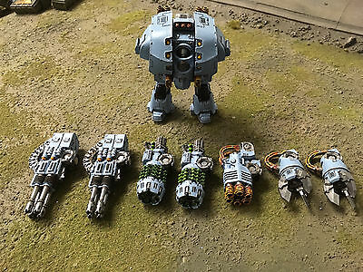 Warhammer 40k Forgeworld Space Wolf Leviathan Dreadnought pro painted
