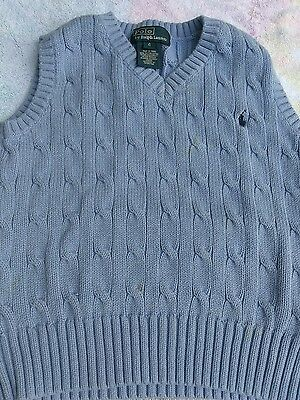 Toddler boys clothing 4t 4 KNIT VEST POLO RALPH LAUREN