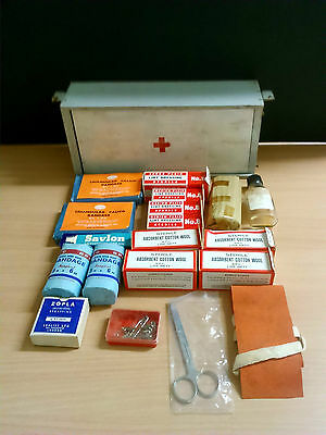 Vintage First Aid Kit - great for a display