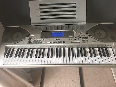Casio CTK 900 Keyboard with Stand