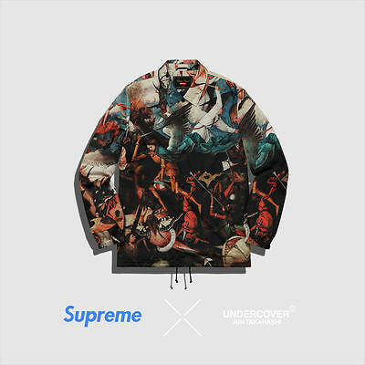 Supreme x Undercover Fall of the Rebel Angels Coaches Jacket