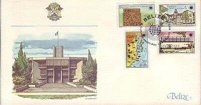 Belize - Special Events, Views, & Anniversaries (5no. FDC's) 1976-86