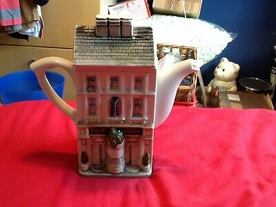 Half Moon Teapot Collectable Novelty House Style