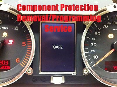 Audi, wv Component Protection  removal, immobilizer adaption, cluster adaption