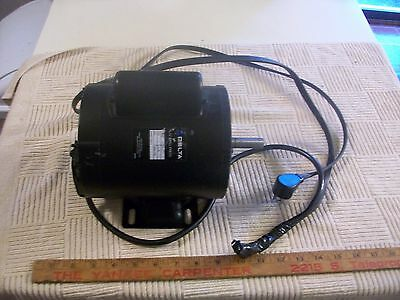 """1/3 HP Delta Electric Motor From  12"""" Drill Press 1 PH 120 V 6.5 amp 1720 RPM"""