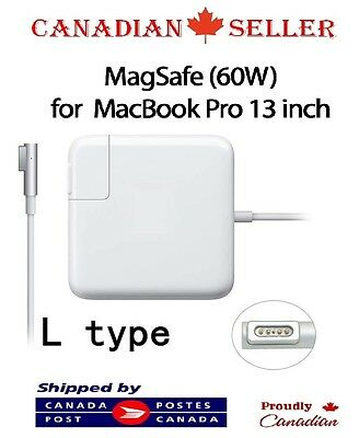"""60W MagSafe Adapter Charger MacBook 13"""" Pro A1184 A1330 A1344"""