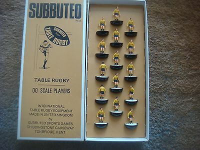 Boxed SUBBUTEO TABLE  R 1 Australia Lightweight Rugby Team
