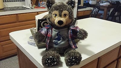 Build-A-Bear Werewolf Wolf Moon Stars Howl O Ween Halloween Glow In The Dark