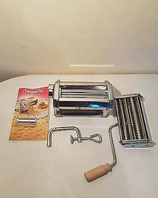 Imperia Sp 150 Pasta Maker Machine - Vintage
