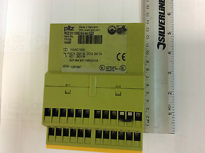 Pilz Pnoz Xv2.130 120Vac / 24Vdc Dual Channel Safety Relay